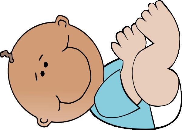 Infant Boy Clip art.