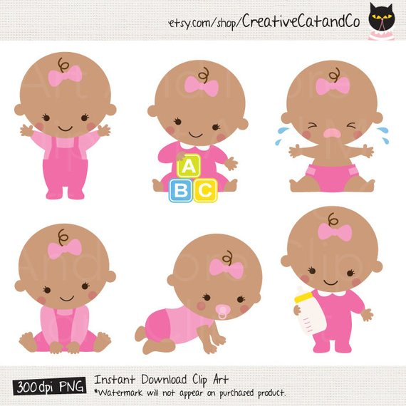 African American Little Girl Clipart & Free Clip Art Images #21223.