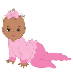 Black baby girl clipart 2 » Clipart Station.