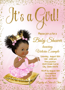African American Princess Baby Shower Gifts on Zazzle.