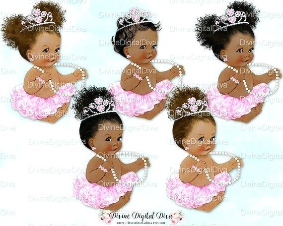 black baby princess.