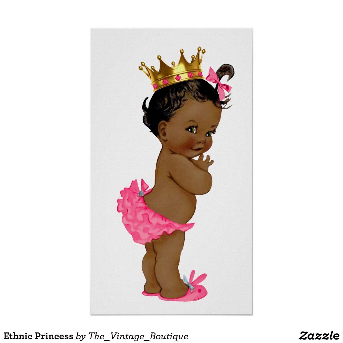 Ethnic Princess Poster.