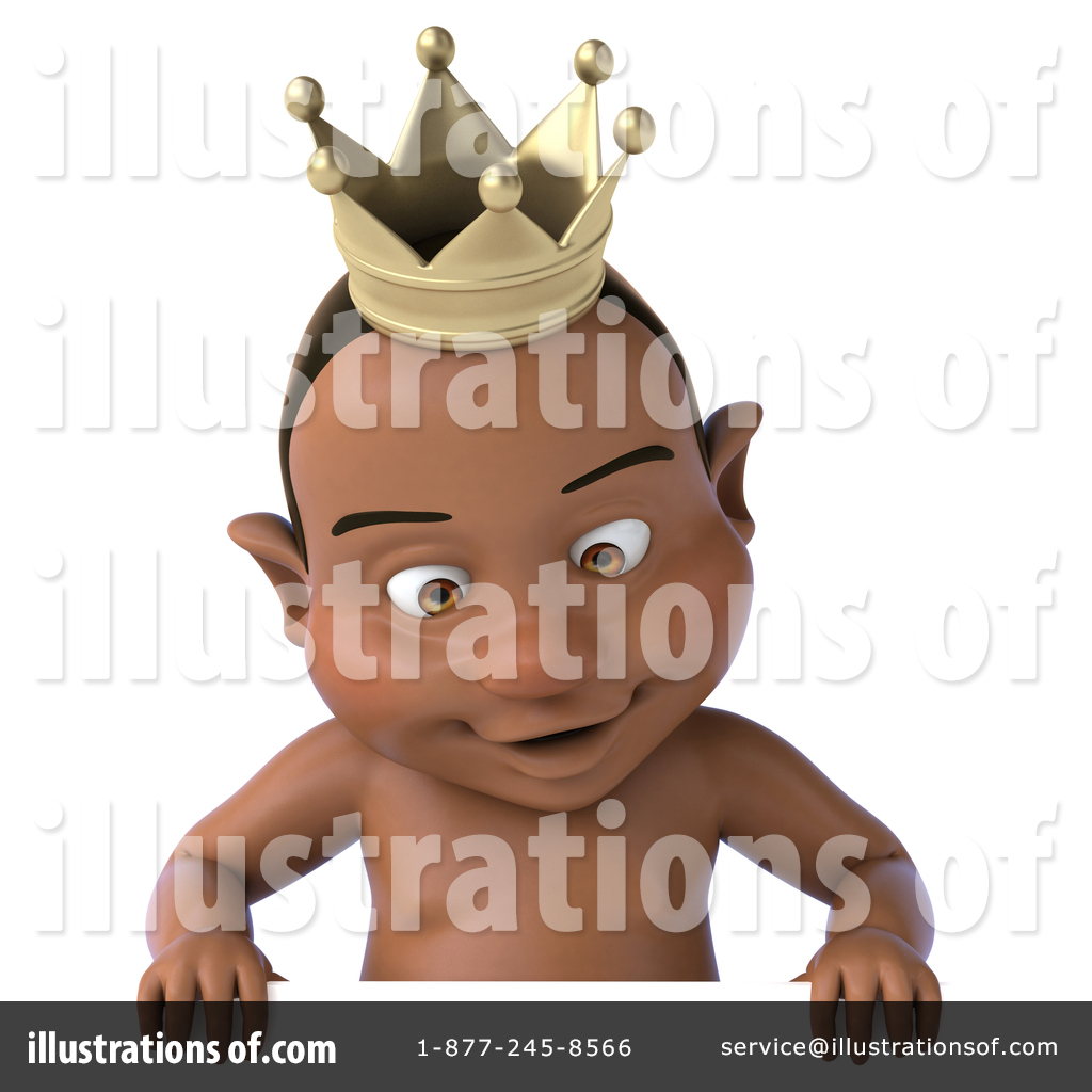 Black Baby Clipart #1350329.