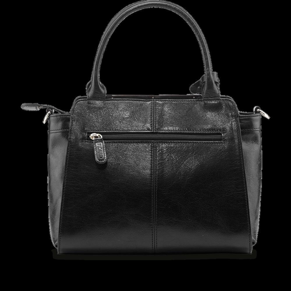 Black Women Bag PNG Image.