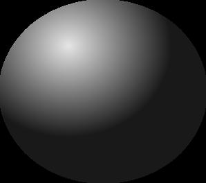Black Ball Clipart.