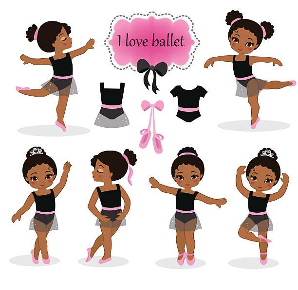 Best African American Ballerina Illustrations, Royalty.