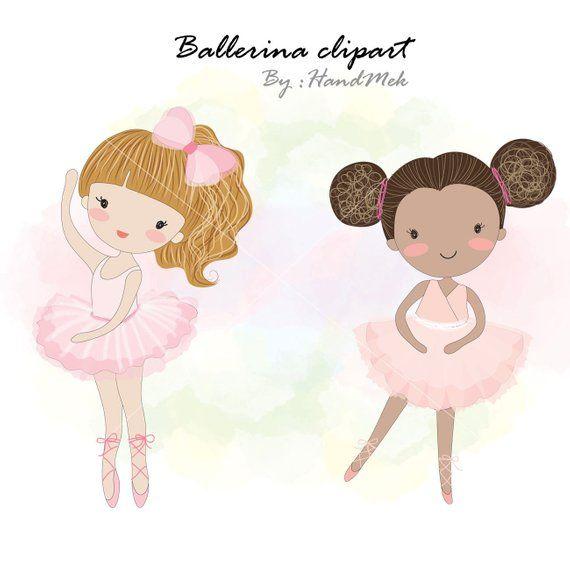 Ballerina clipart , girl ballet, dancing,black girl clipart,instant.