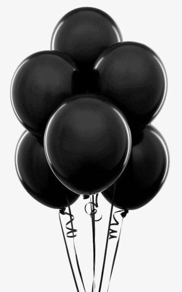 Black Balloon PNG, Clipart, Art, Balloon, Balloon Clipart, Balloons.