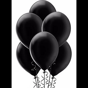 Download Free png Black Balloon.