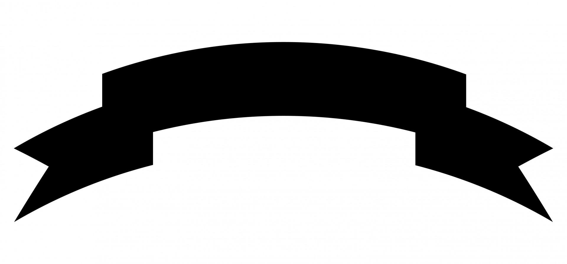 Black banner clipart 2 » Clipart Station.