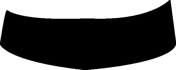 Black Banner PNG Image.