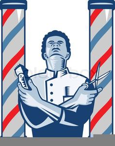 Black Barber Shop Clipart.