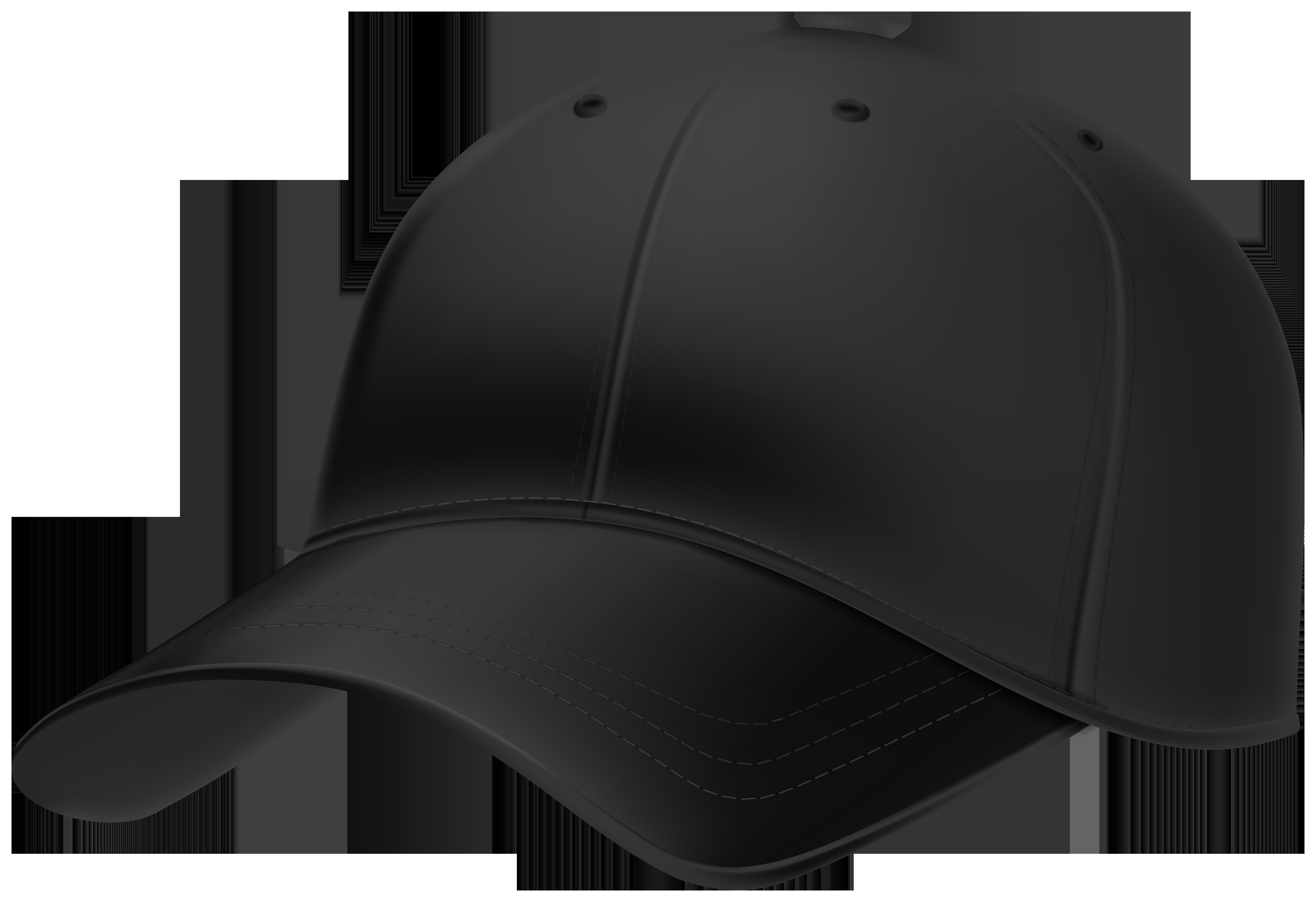 Black Cap PNG Clipart.