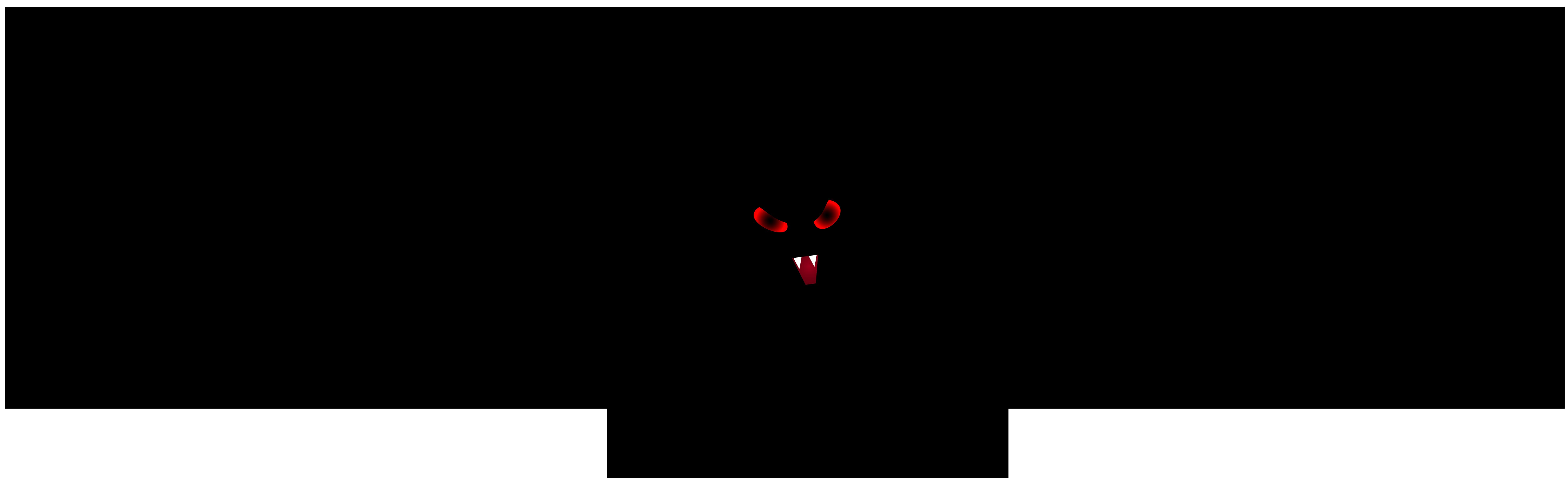 Halloween Black Bat PNG Clip Art Image.