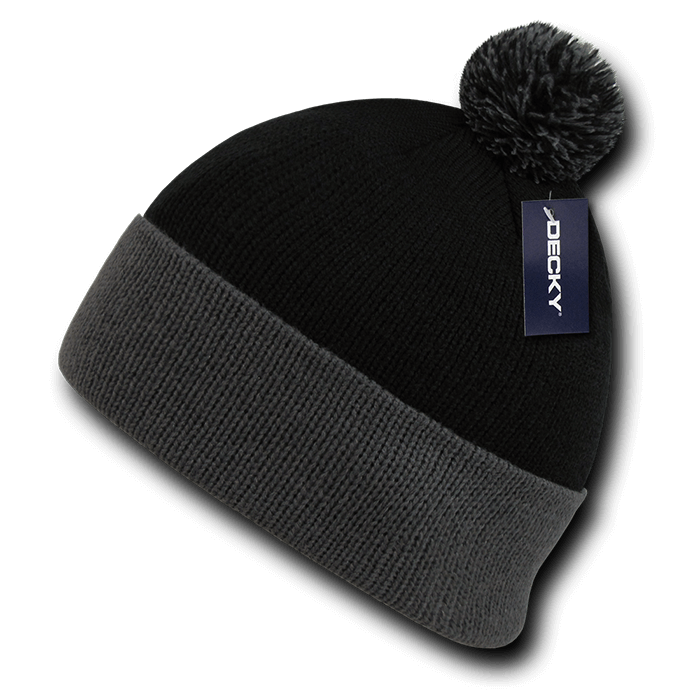 Athletic Pom Pom Beanie.