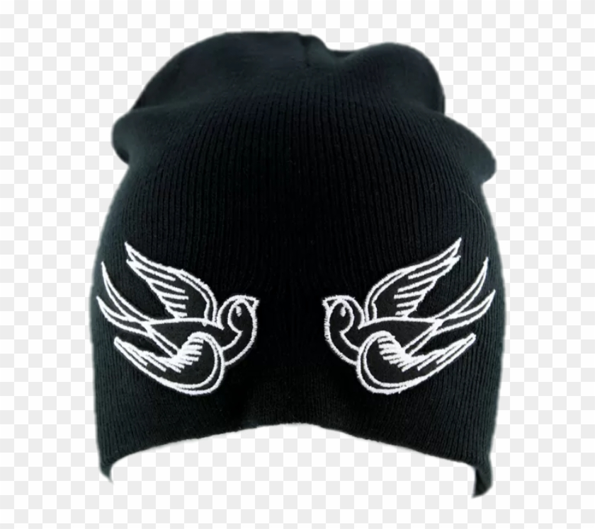 bird #black #beanie #beanies #hat #tumblr #grunge.