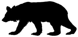 Black Bear Clip Art Download.