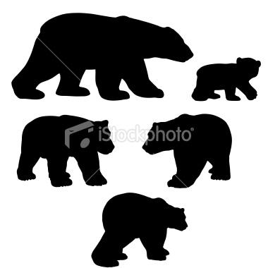 bear outline.