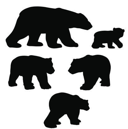 Bear black white top black bear clip art free clipart spot.