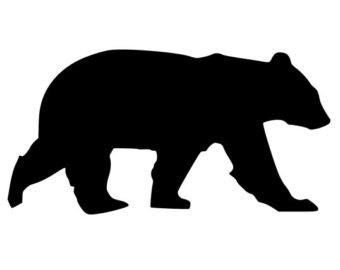 Black Bear Clipart.