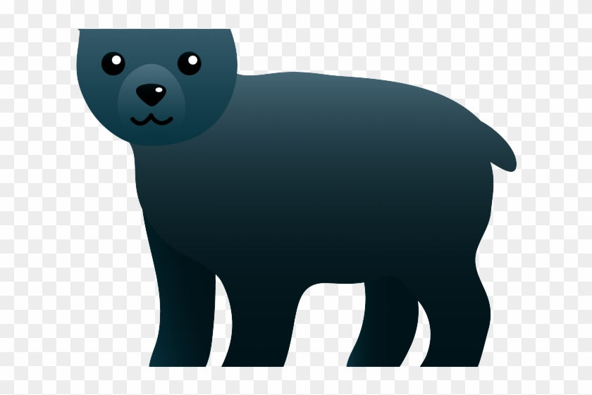 Black Bear Clipart Baylor Bear.