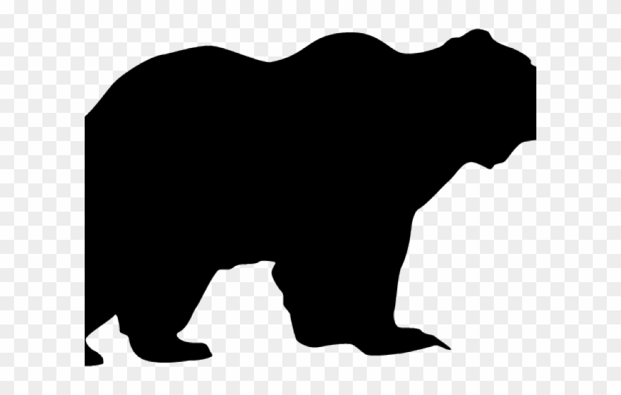 Black Bear Clipart Canadian Bear.