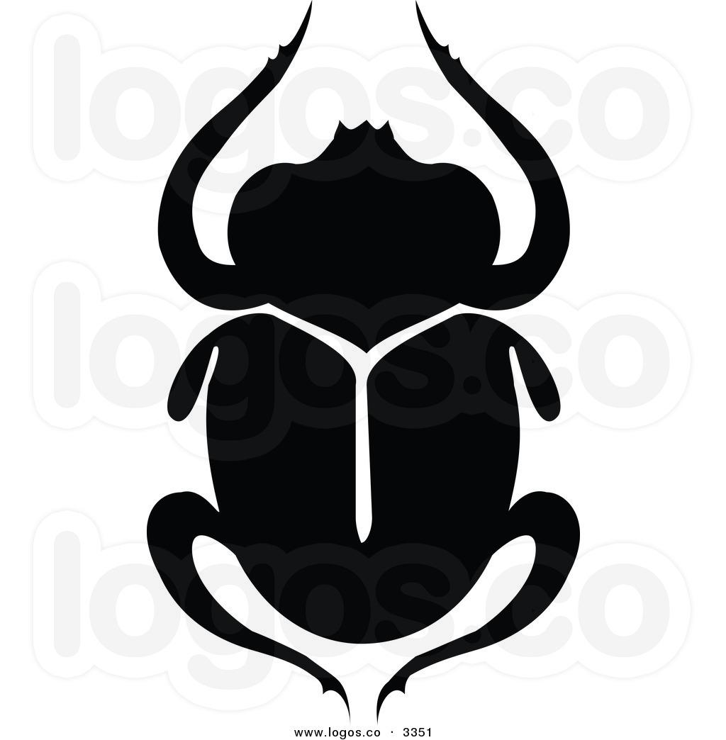 Black Beetle Clipart.