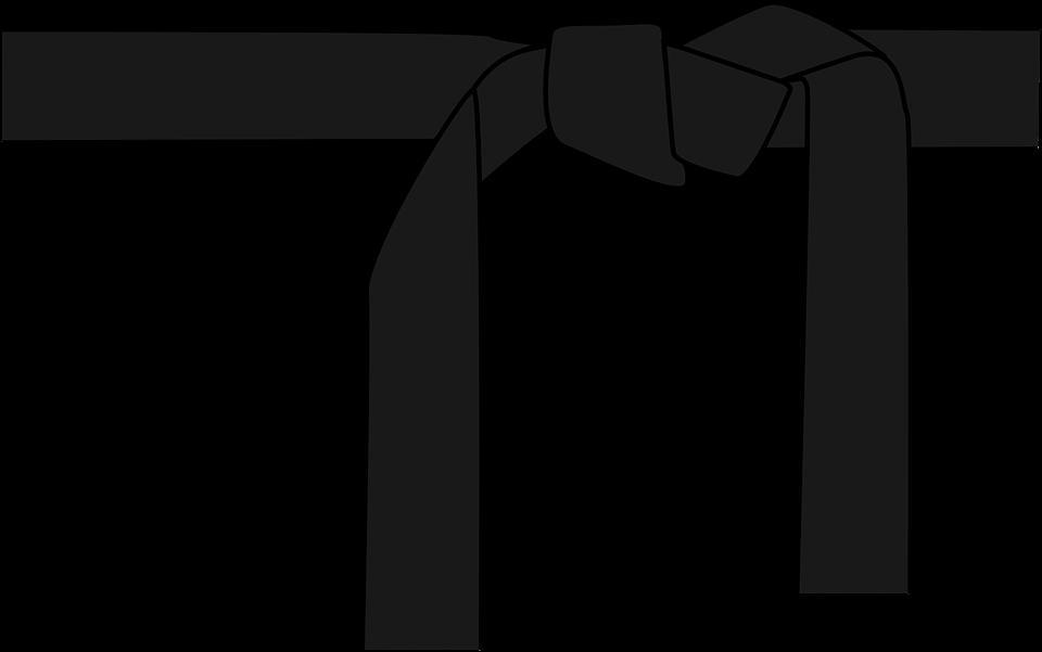 Karate Judo Belt.