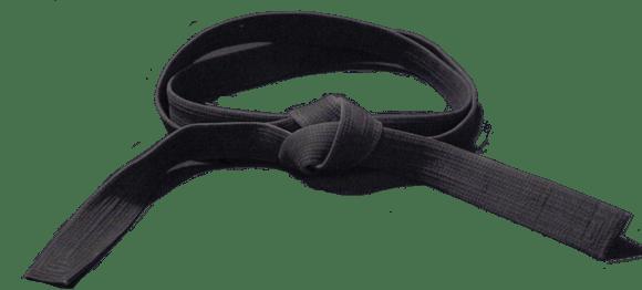 Karate Black Belt transparent PNG.