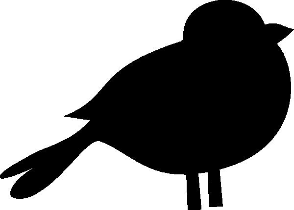 A black bird clip art 2.