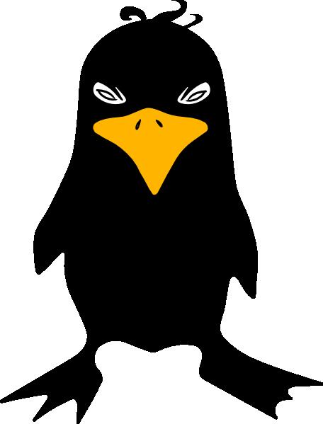 Black Bird Clip Art at Clker.com.