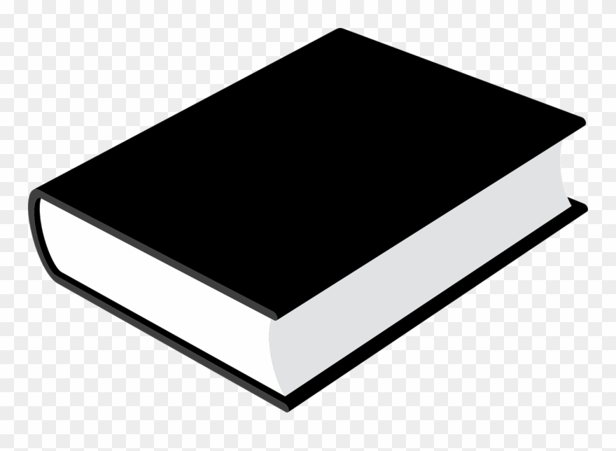 Book Closed Black Blank Library Png Image Clipart (#2564803.