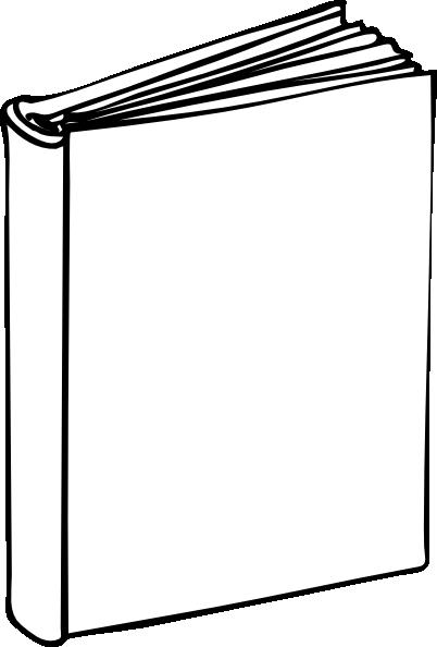 Blank Book clip art.
