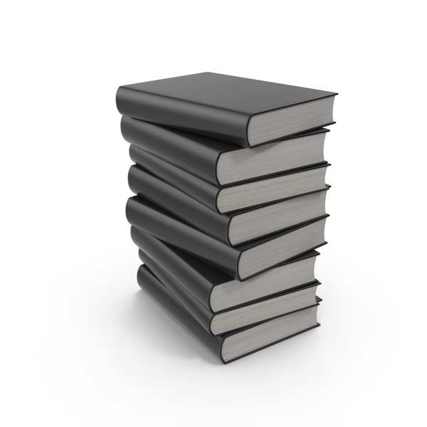 Black Book Stack PNG Images & PSDs for Download.