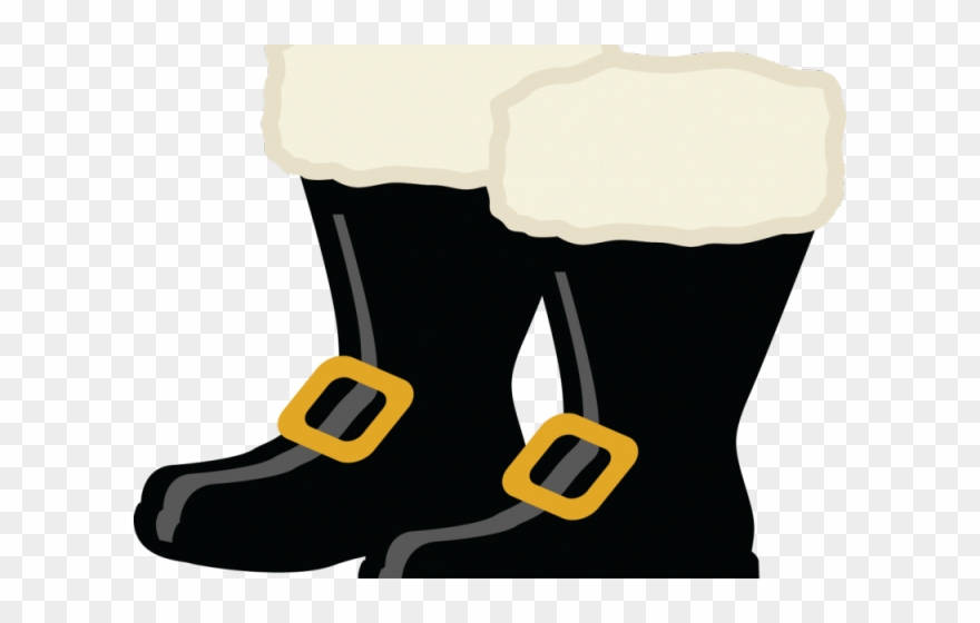 Santa Claus Clipart Boot.