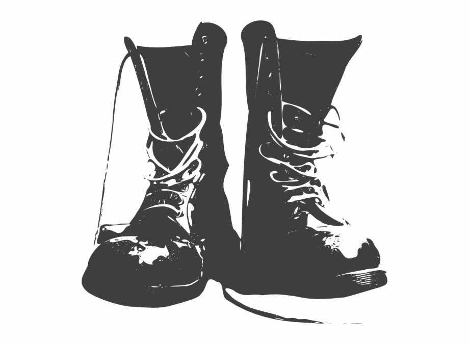 Black Boots Clip Art At Clker.