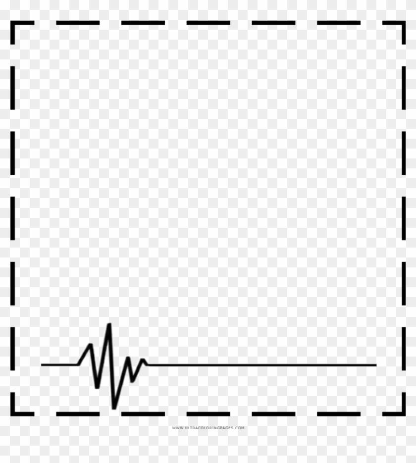 square #heartbeat #black #frame #border.