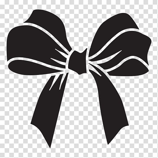 Bow tie Black and white , black bow tie transparent background PNG.