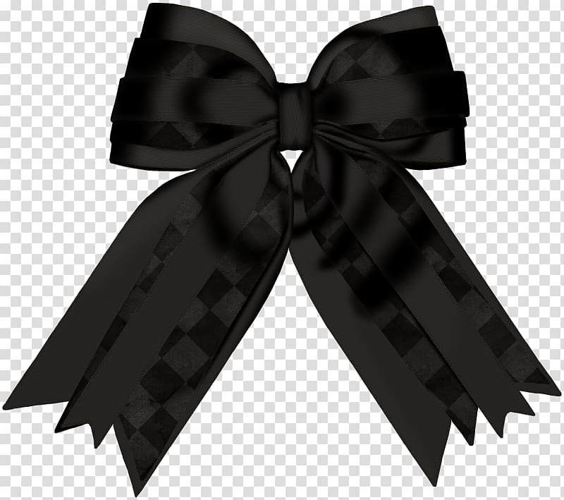 Bow tie , Black bow transparent background PNG clipart.