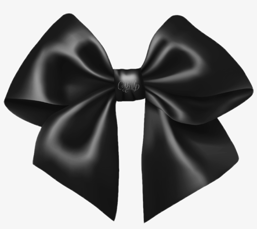 Download Free png Black Bow Png Ribbon Png Free Transparent PNG.