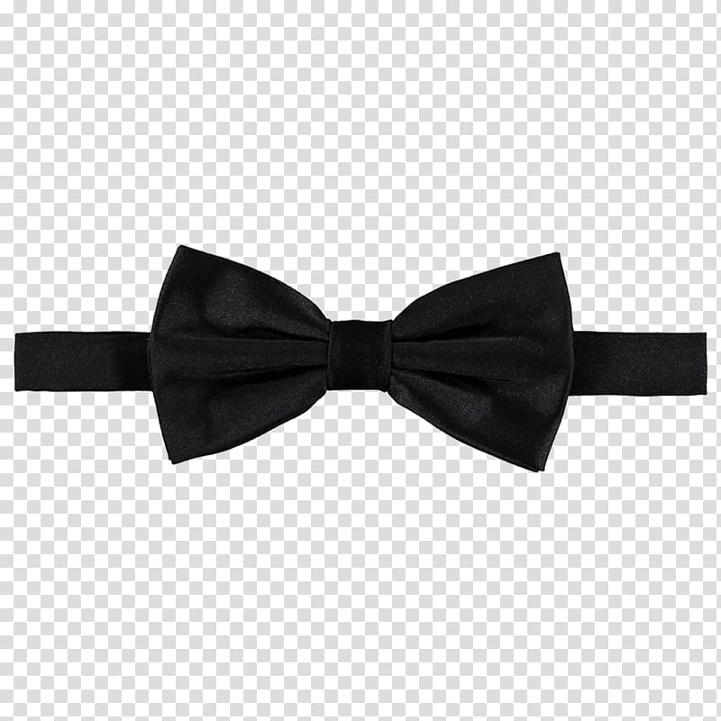 Black bowtie illustration, Bow tie Necktie Tuxedo Satin Black tie.