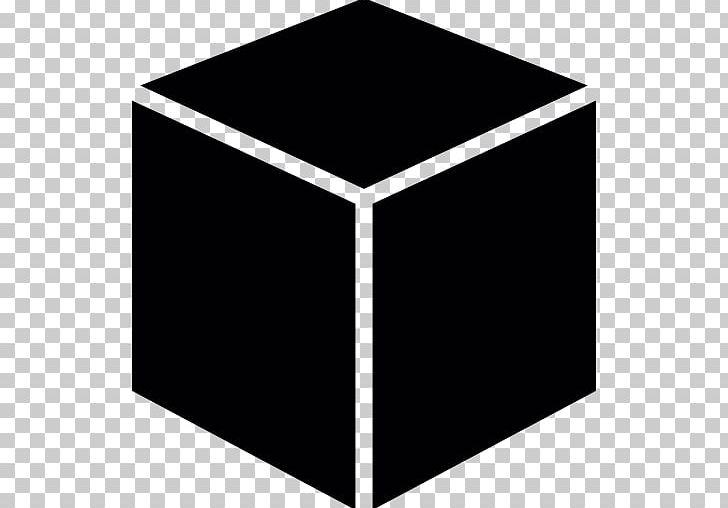 Black Box Shape Square PNG, Clipart, Angle, Black, Black And White.