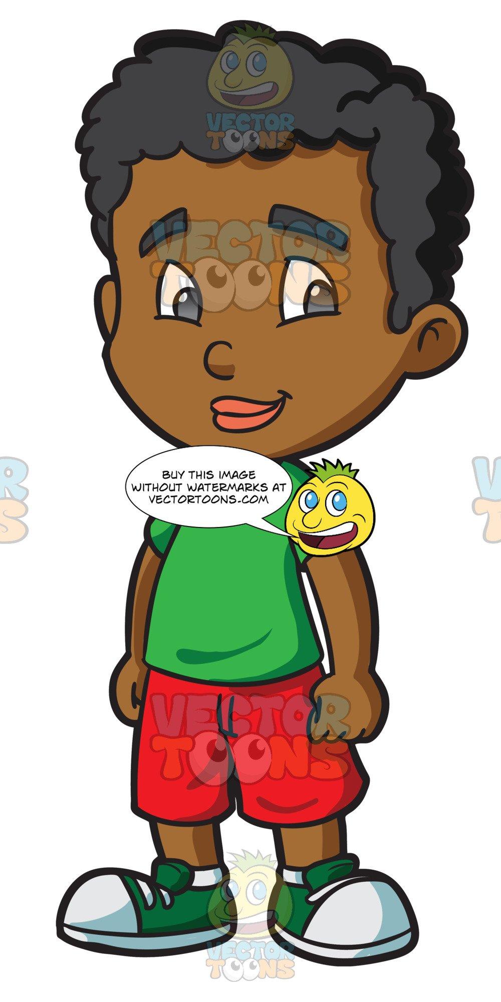 black boy clipart.