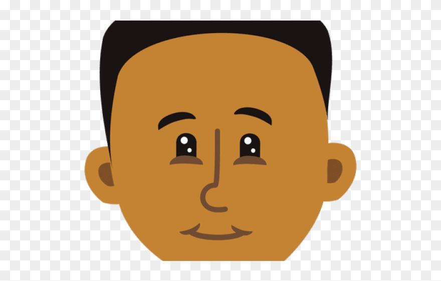 Cartoon Black Boy.