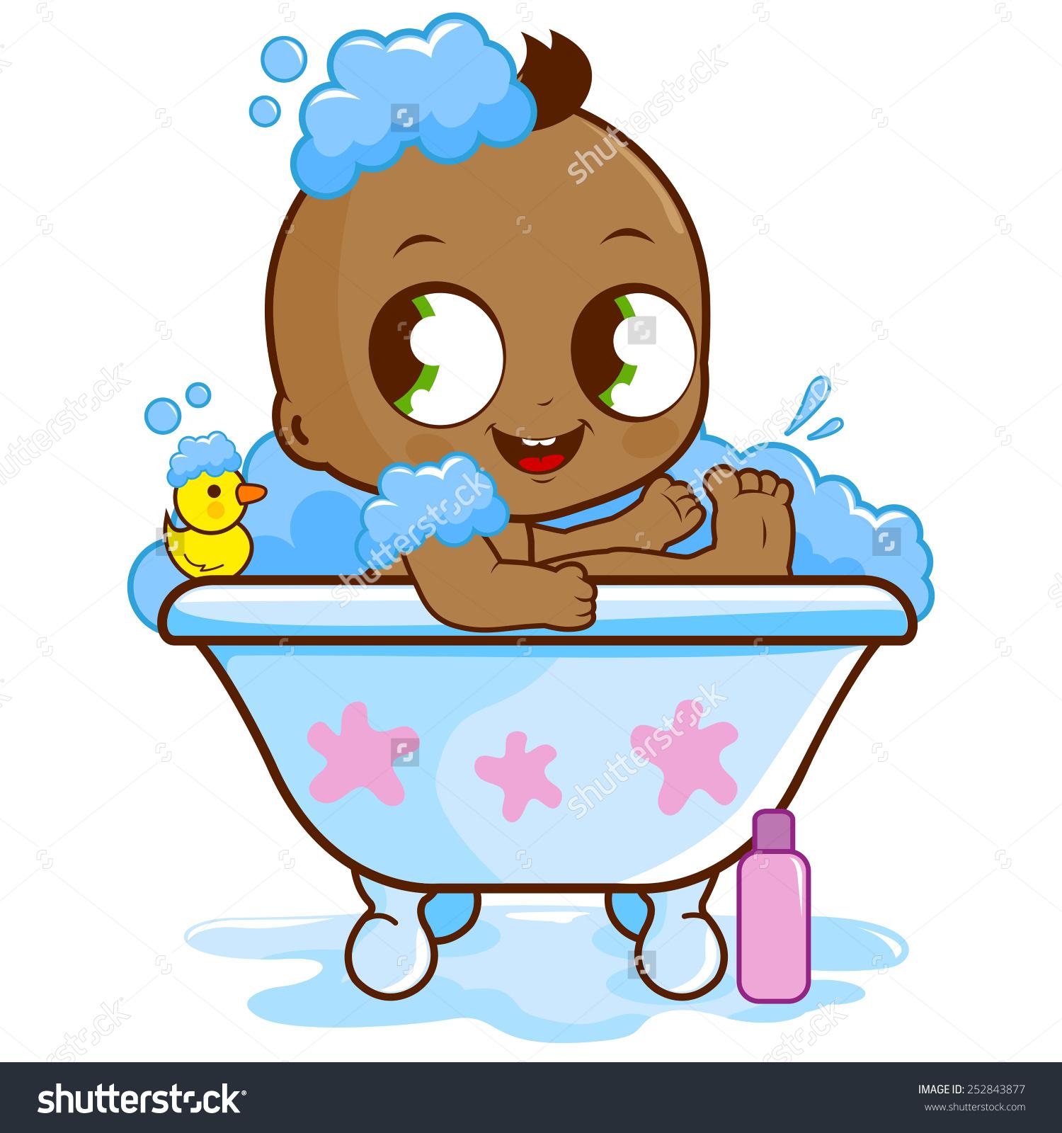 taking a bath clipart - photo #41