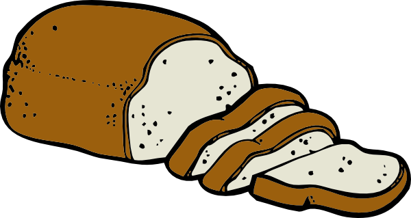 Bread Clipart Black And White.