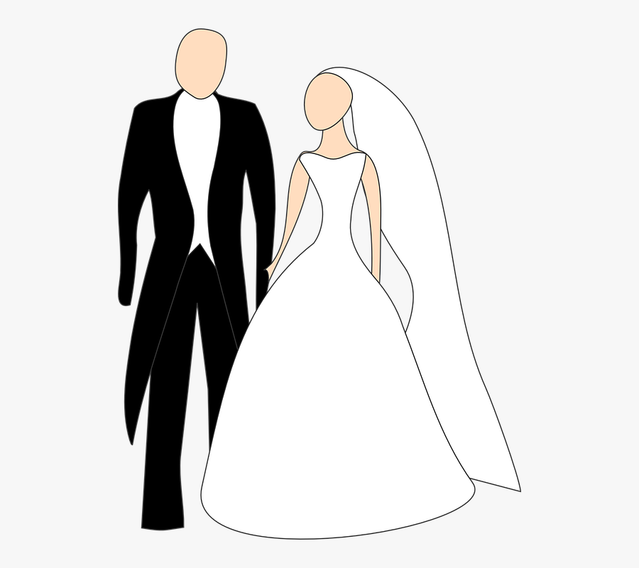 Broom Wedding Free Vector.