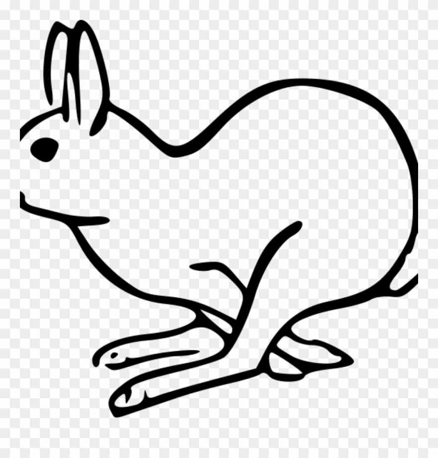Bunny Clipart Black And White Bunny Clipart Black And.
