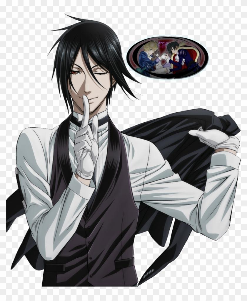Black Butler Sebastian Png.