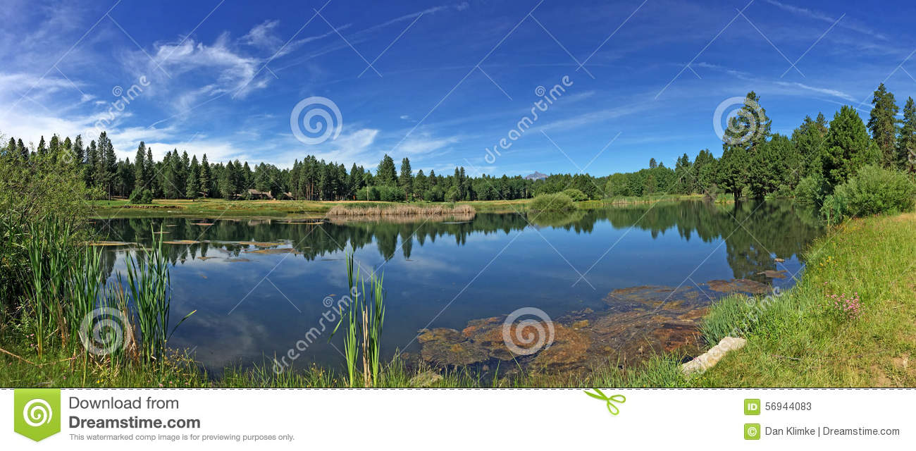 Black Butte Ranch In Sisters, Oregon Stock Photo.